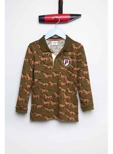 U.S.Polo Assn. Sweatshirt Haki